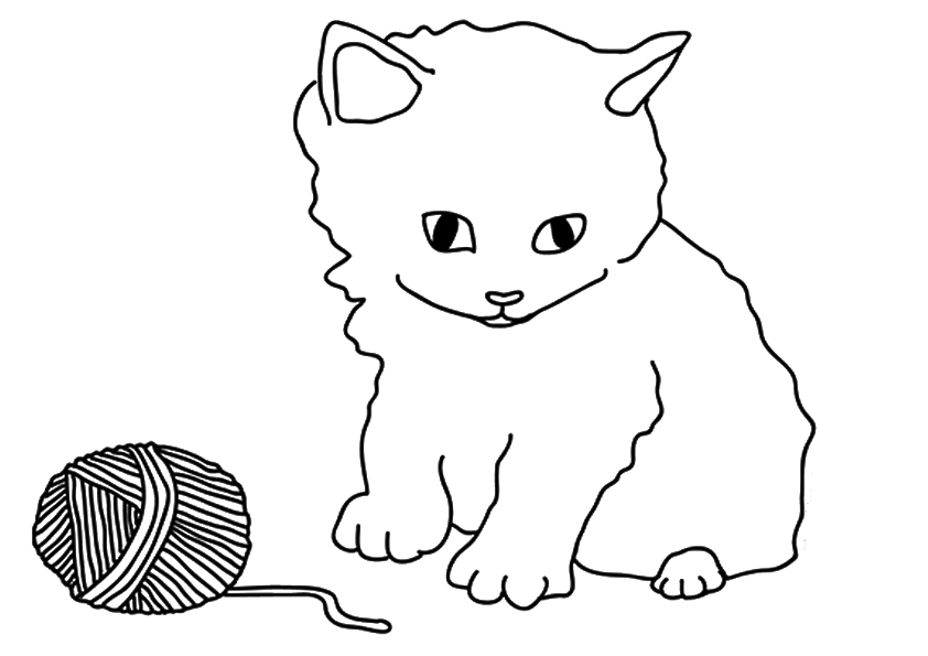 kitten coloring free printable kitten coloring pages for kids best kitten coloring 1 1