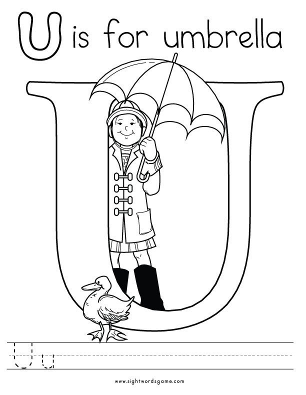 letter u colouring pages alphabet coloring pages letter pages colouring u