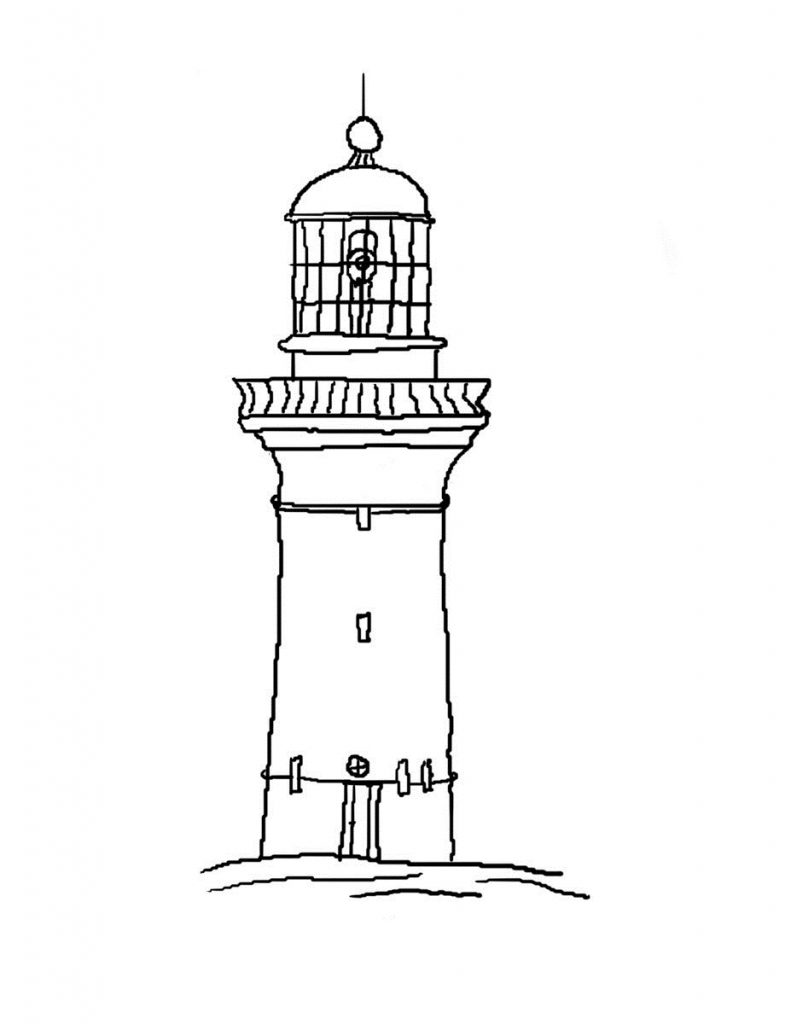 lighthouse coloring sheet a lighthouse coloring page color the bible coloring sheet lighthouse