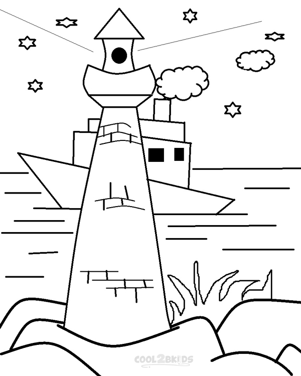lighthouse coloring sheet free printable lighthouse coloring pages for kids sheet coloring lighthouse
