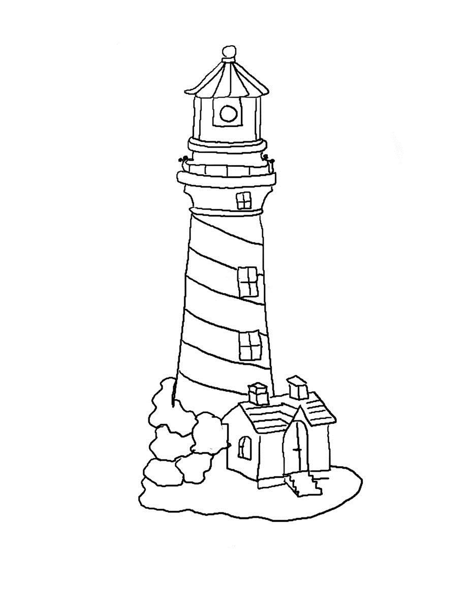 lighthouse coloring sheet free printable lighthouse coloring pages for kids sheet coloring lighthouse 1 1