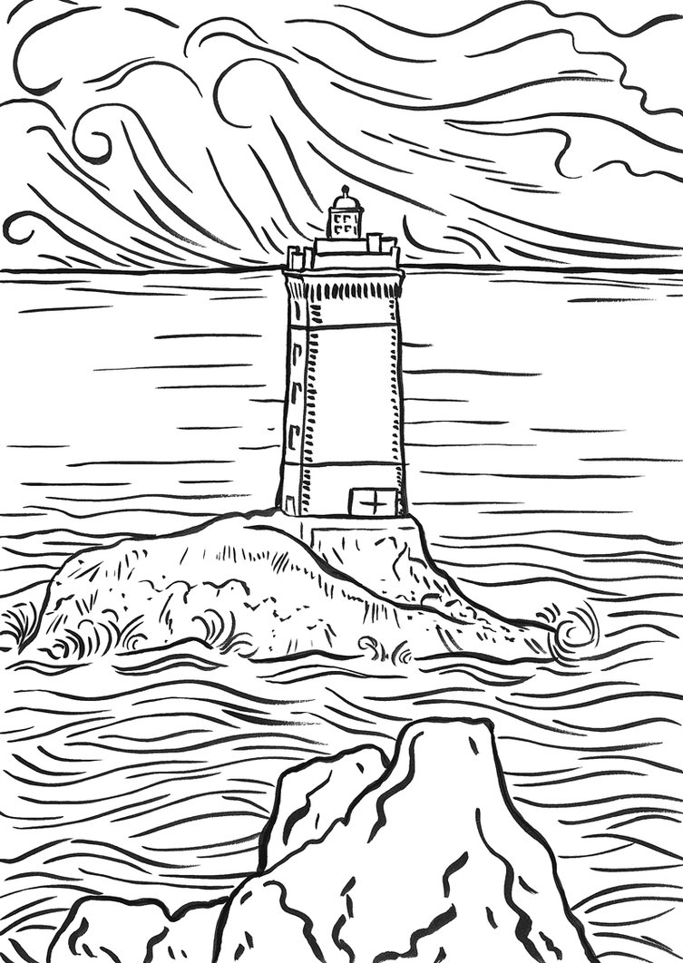 lighthouse coloring sheet lighthouse coloring pages to download and print for free lighthouse sheet coloring
