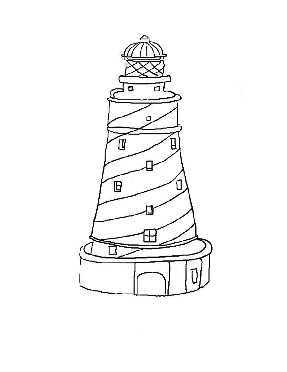 lighthouse coloring sheet pin από το χρήστη theo dora στον πίνακα ΣΧΕΔΙΑ house sheet coloring lighthouse