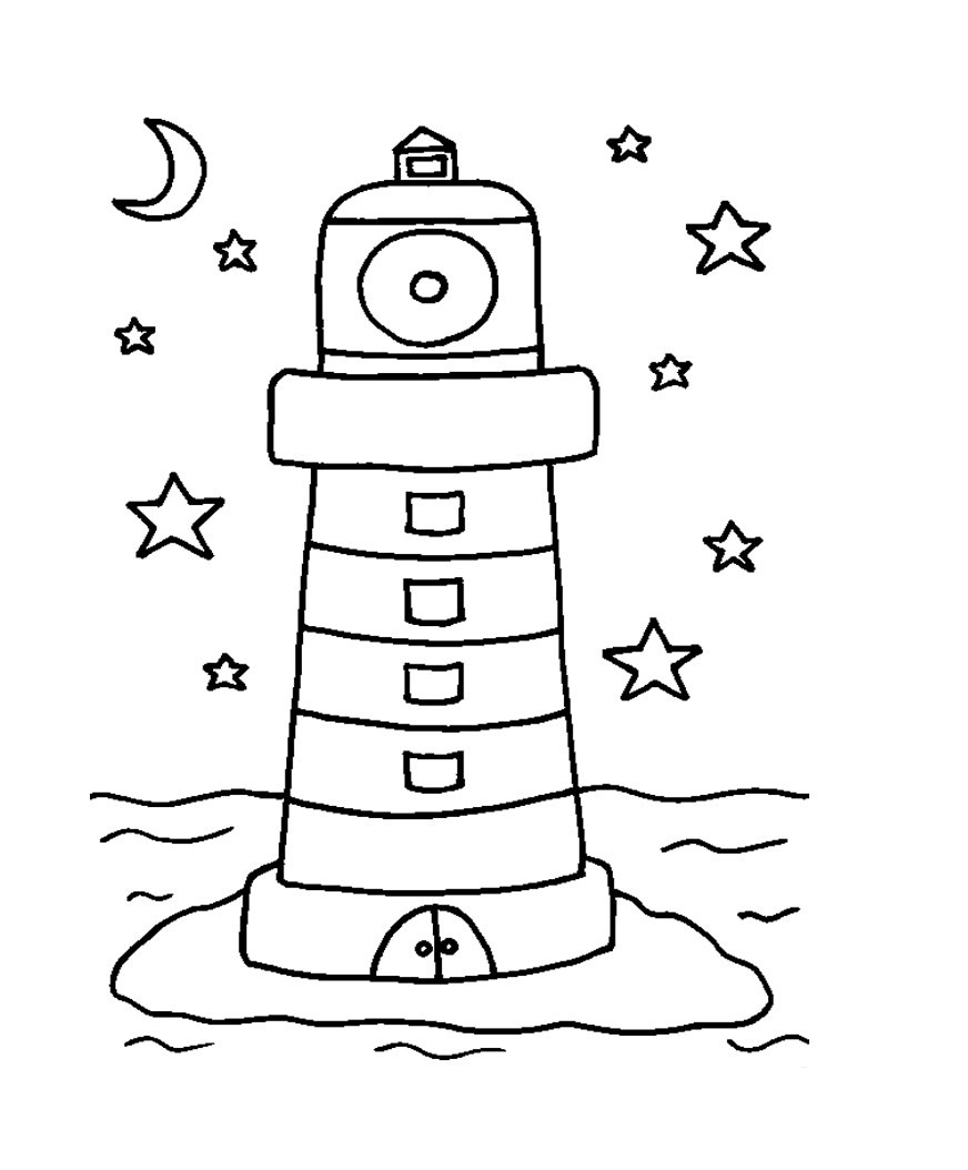 lighthouse coloring sheet printable lighthouse coloring pages for kids cool2bkids coloring sheet lighthouse