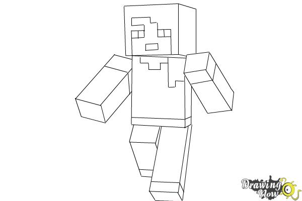 minecraft alex coloring pages how to draw alex from minecraft drawingnow pages alex minecraft coloring