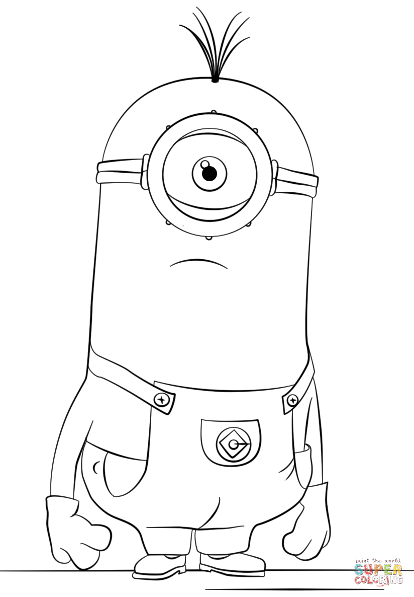 minion kevin coloring pages 9 best minion coloring pages images minion coloring coloring kevin pages minion
