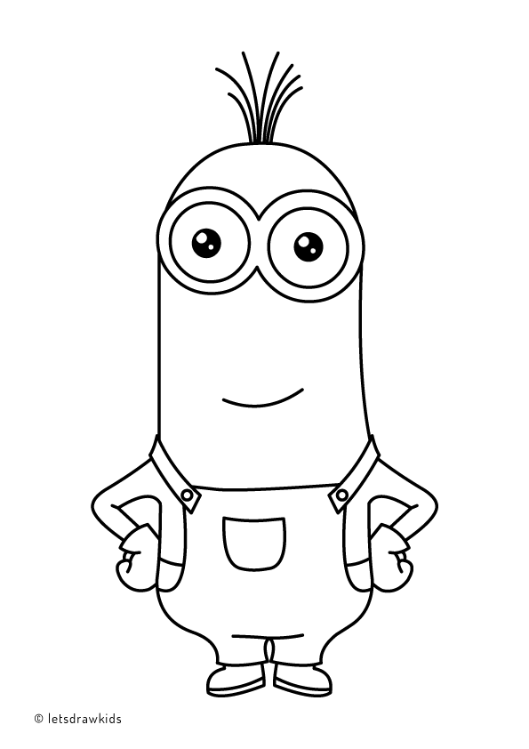 minion kevin coloring pages coloring page for kids minion kevin minion coloring kevin minion pages coloring