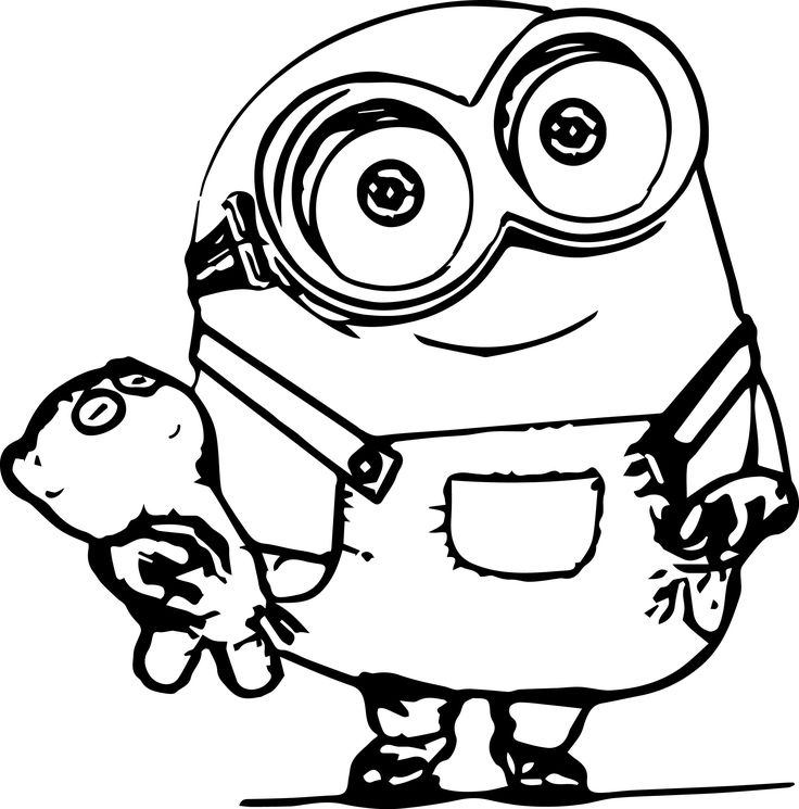 minion printable minion coloring pages best coloring pages for kids minion printable 1 1