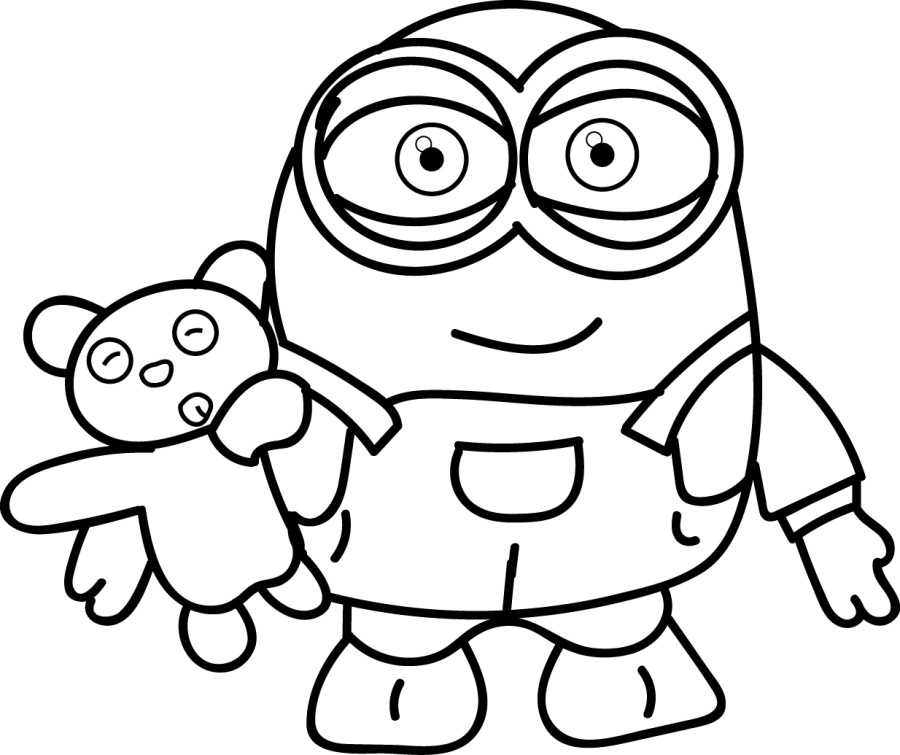 minion printable minion coloring pages best coloring pages for kids printable minion 1 1