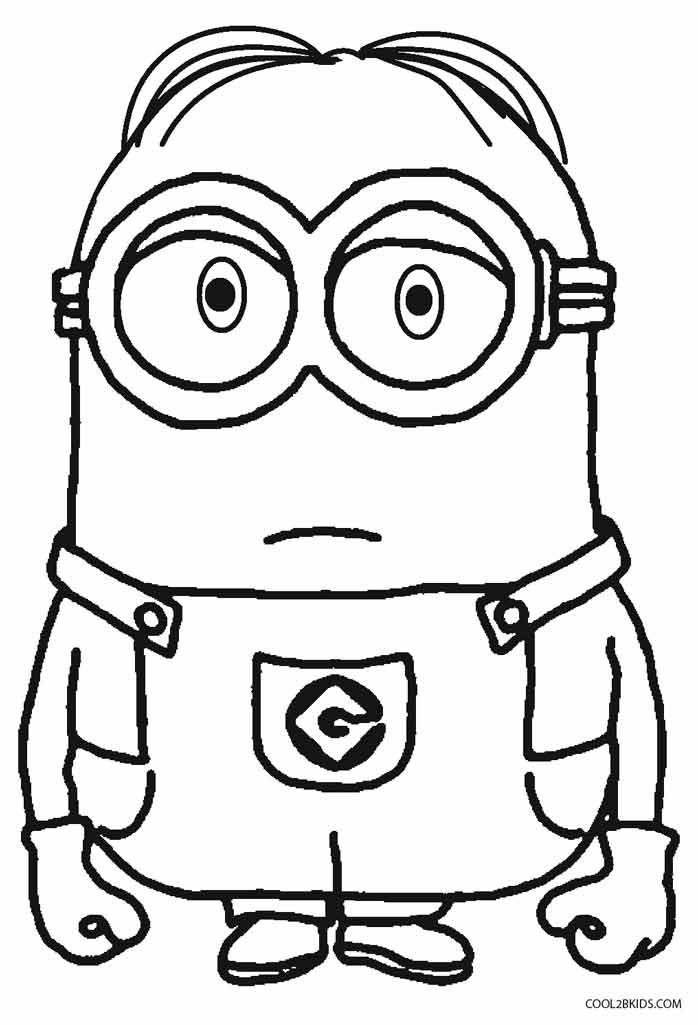 minion printable minion dave coloring page free printable coloring pages printable minion