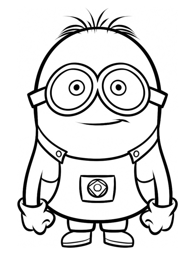 minion printable minions coloring pages getcoloringpagescom minion printable