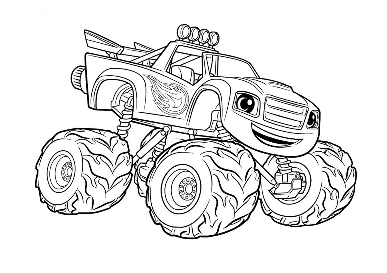 monster truck coloring pages to print bigfoot monster truck coloring page free printable to pages print truck coloring monster