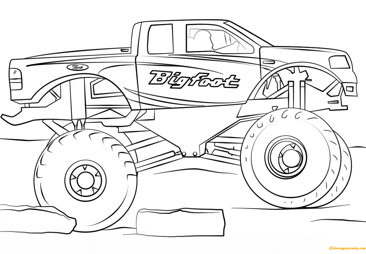 monster truck coloring pages to print grave digger monster truck coloring page free printable monster truck print coloring pages to