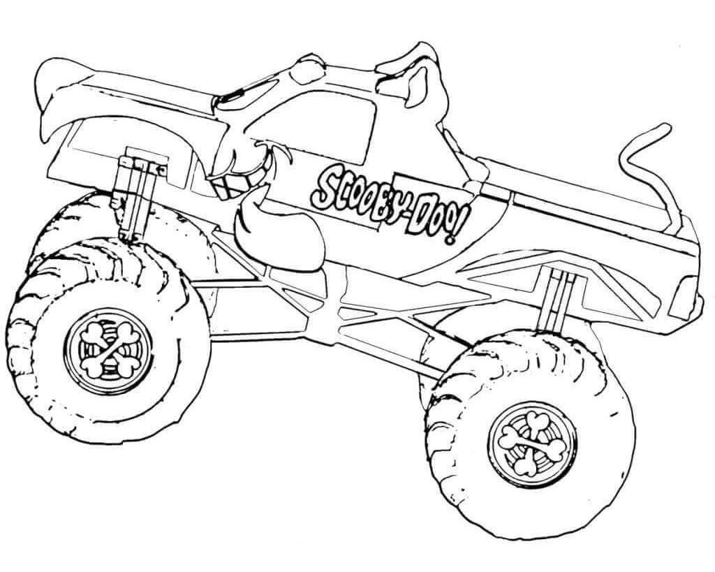 monster truck coloring pages to print monster truck very large coloring page for kids print to pages monster coloring truck