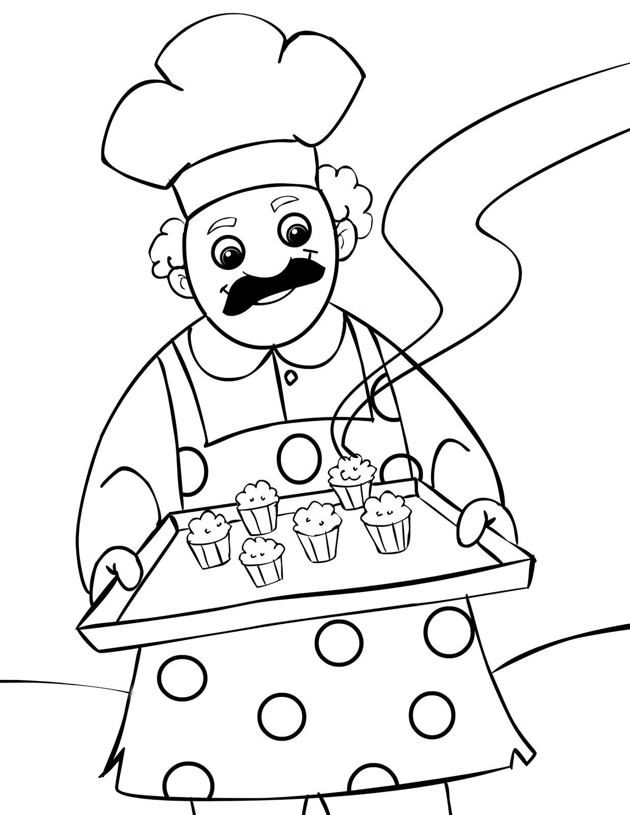 muffin pictures to color food coloring pages children39s best activities color to muffin pictures
