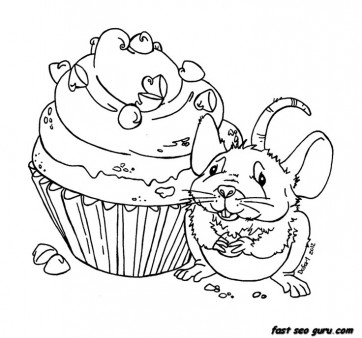 muffin pictures to color muffin coloring page ultra coloring pages to muffin pictures color