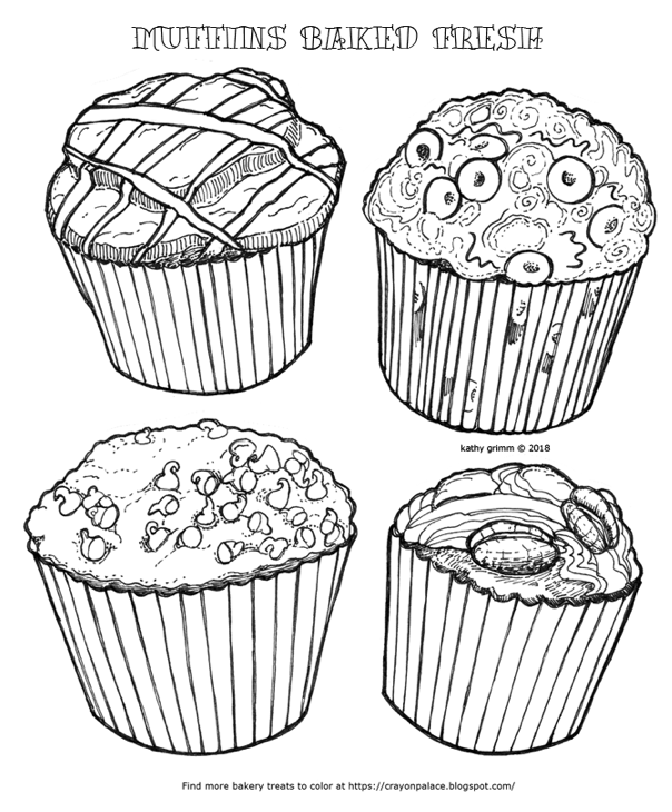 muffin pictures to color muffins book pages coloring pages muffin color to pictures
