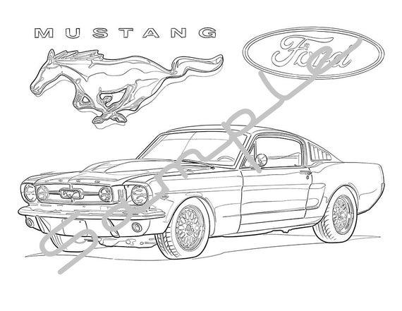 mustang car coloring pages drawing mustang car coloring pages best place to color pages coloring car mustang