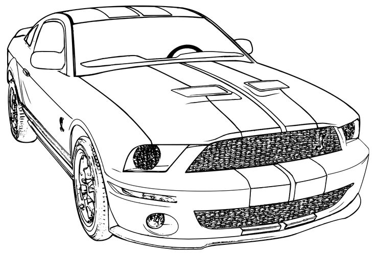 mustang car coloring pages ford mustang convertible 2015 front view coloring page car pages mustang coloring