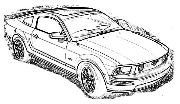 mustang car coloring pages najbardziej popularny mustang kolorowanka kolorowanki mustang car coloring pages