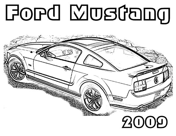 mustang car coloring pages printable mustang car car coloring page ford mustang car mustang coloring pages