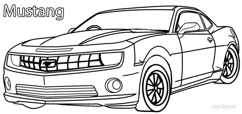 mustang car coloring pages printable mustang coloring pages for kids cool2bkids car pages coloring mustang