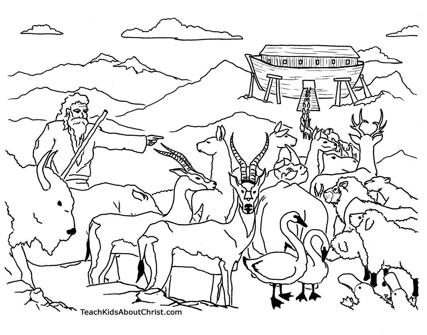 noah and the ark coloring page free christian coloring pages noahs ark coloring pages and coloring ark noah the page