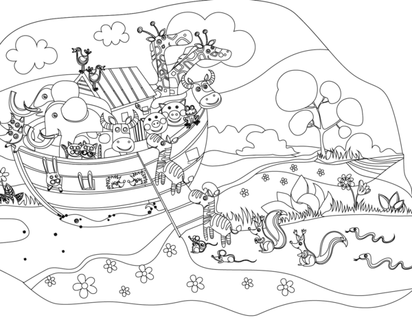 noah and the ark coloring page noah and the ark coloring page ark page coloring noah and the