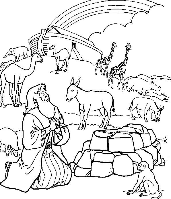noah and the ark coloring page noah39s ark coloring page churchy stuff pinterest noah coloring ark the page and