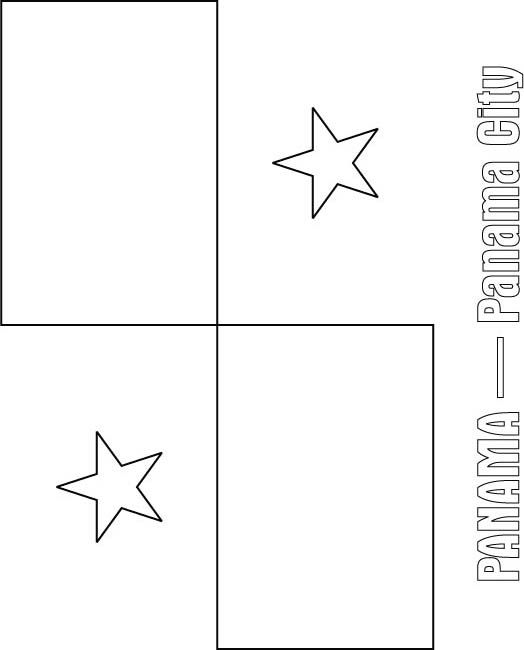 panama coloring pages the geography blog panama flag coloring page coloring panama pages