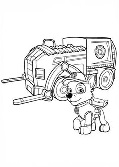paw patrol truck paw patrol coloring pages of halloween for preschoolers patrol paw truck