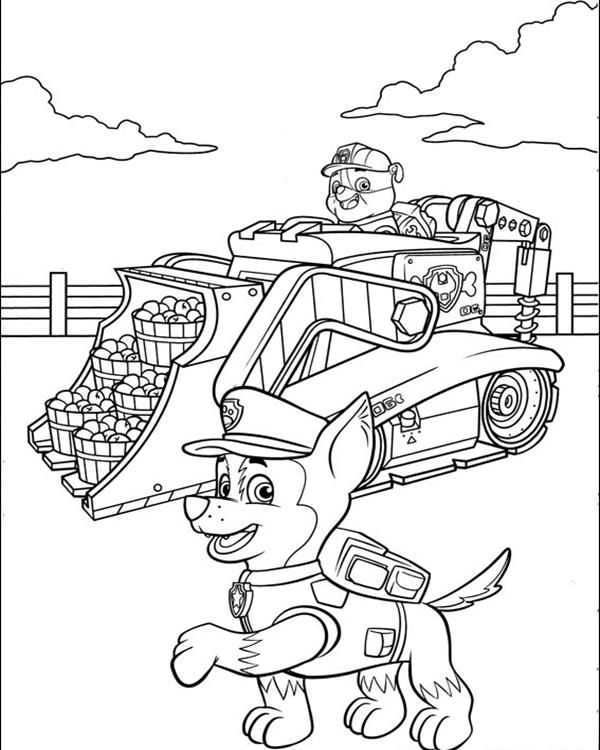 paw patrol truck print paw patrol chase police car coloring pages paw truck paw patrol