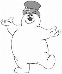 picture of frosty the snowman frosty coloring page snowman coloring pages christmas frosty of the picture snowman