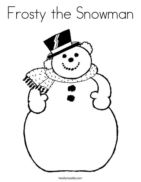 picture of frosty the snowman snowman picture to color coloring pages picture the frosty snowman of