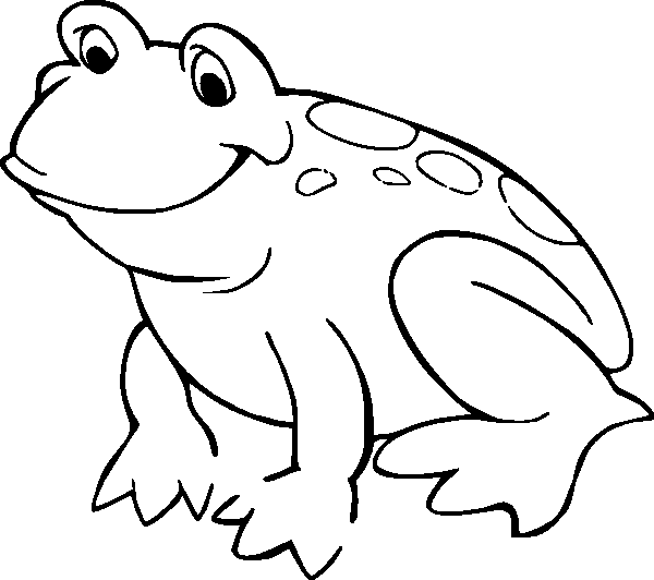 pictures of frogs to color frog coloring page or art pattern nuttin but preschool of to pictures color frogs
