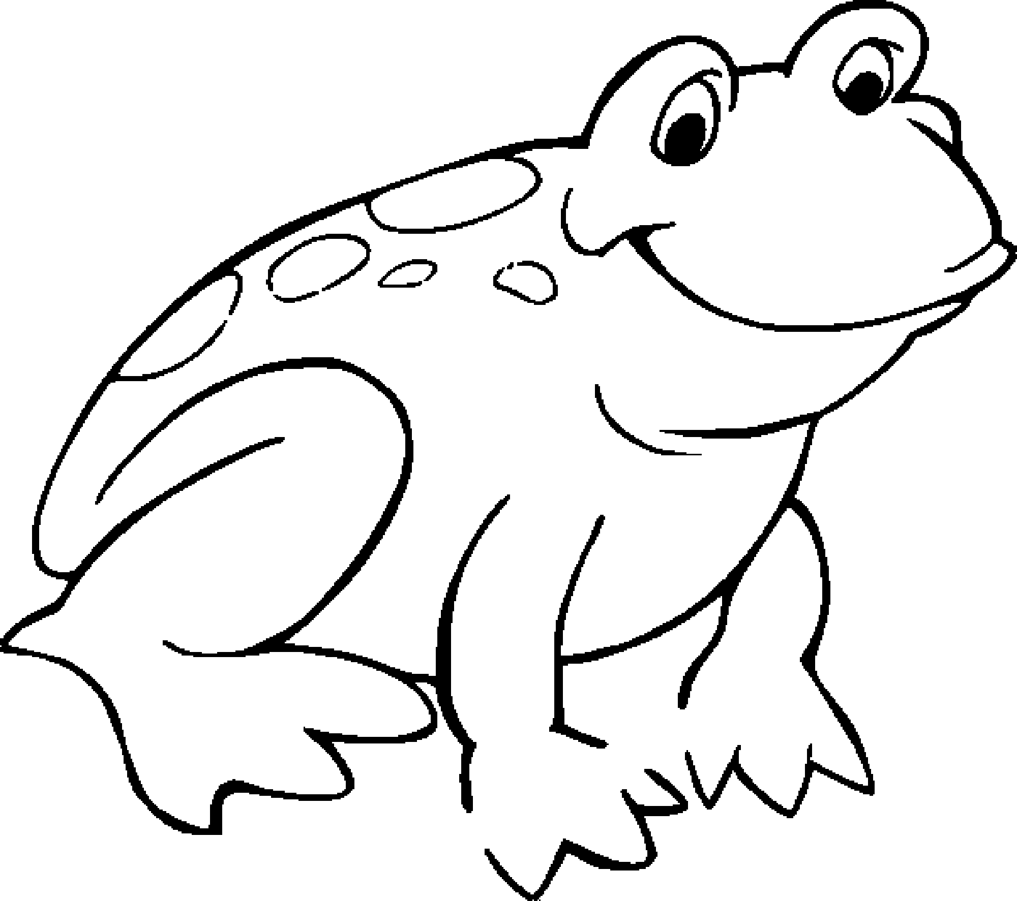 pictures of frogs to color frog coloring page or art pattern nuttin39 but preschool of to color pictures frogs