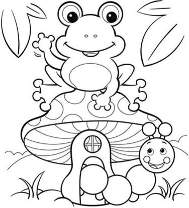 pictures of frogs to color frog coloring pages for kids bestappsforkidscom pictures of to color frogs