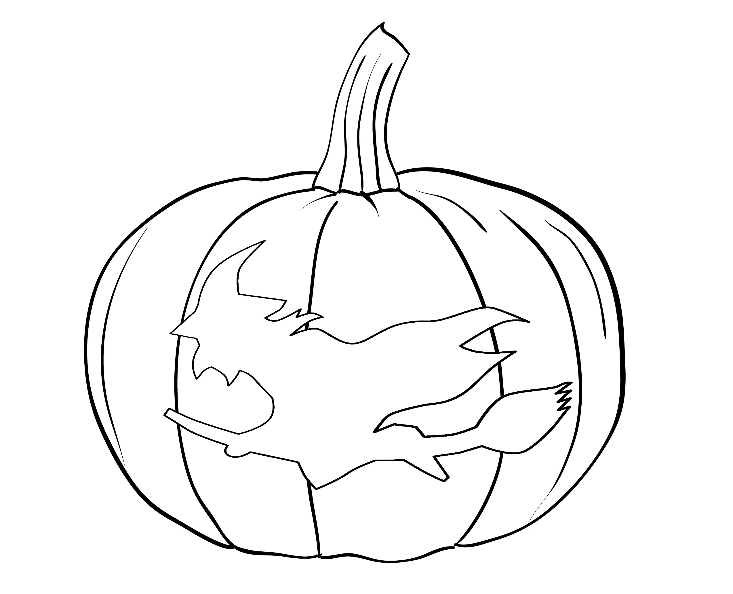 pictures of pumpkins free printable pumpkin coloring pages for kids of pictures pumpkins 1 1