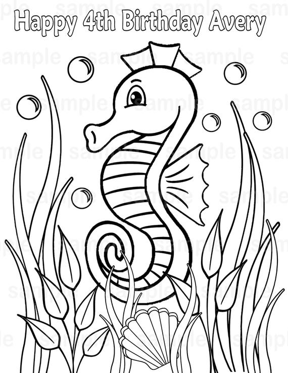 pictures of seahorses to colour seahorse coloring page for kids free printable picture pictures colour to of seahorses