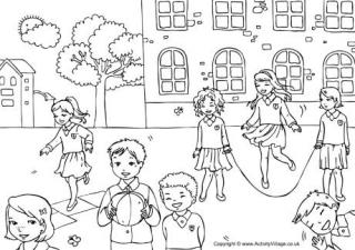 playground coloring pages create your own coloring book 9 fun coloring pages parents playground pages coloring