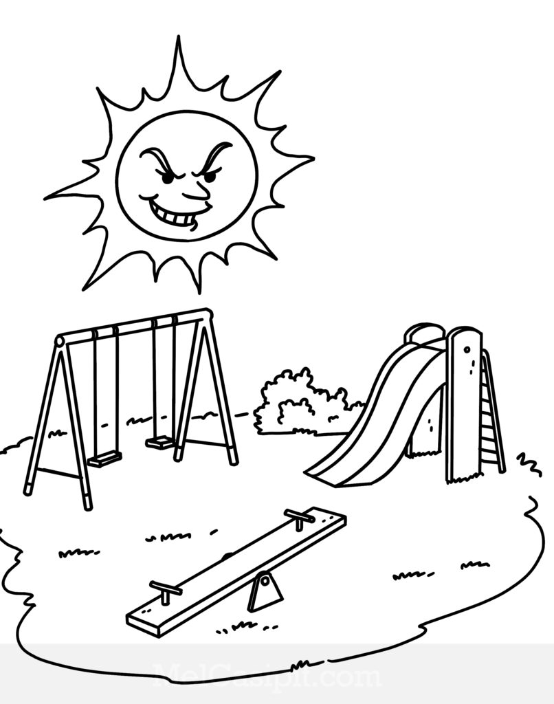 playground coloring pages fun playground coloring pages coloring pages coloring playground pages