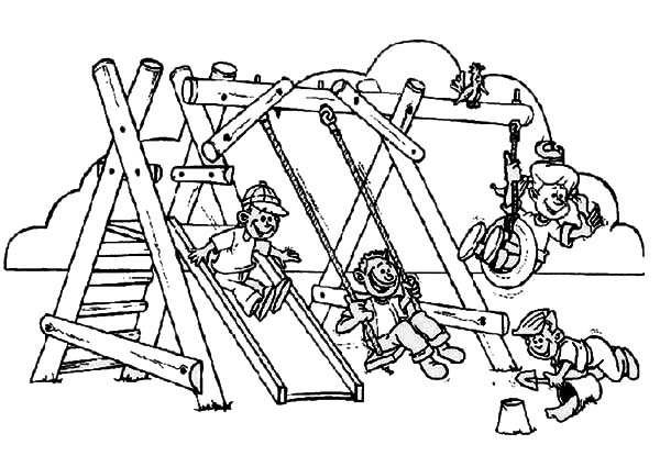 playground coloring pages redirecting to httpwwwsheknowscomparentingslideshow playground pages coloring