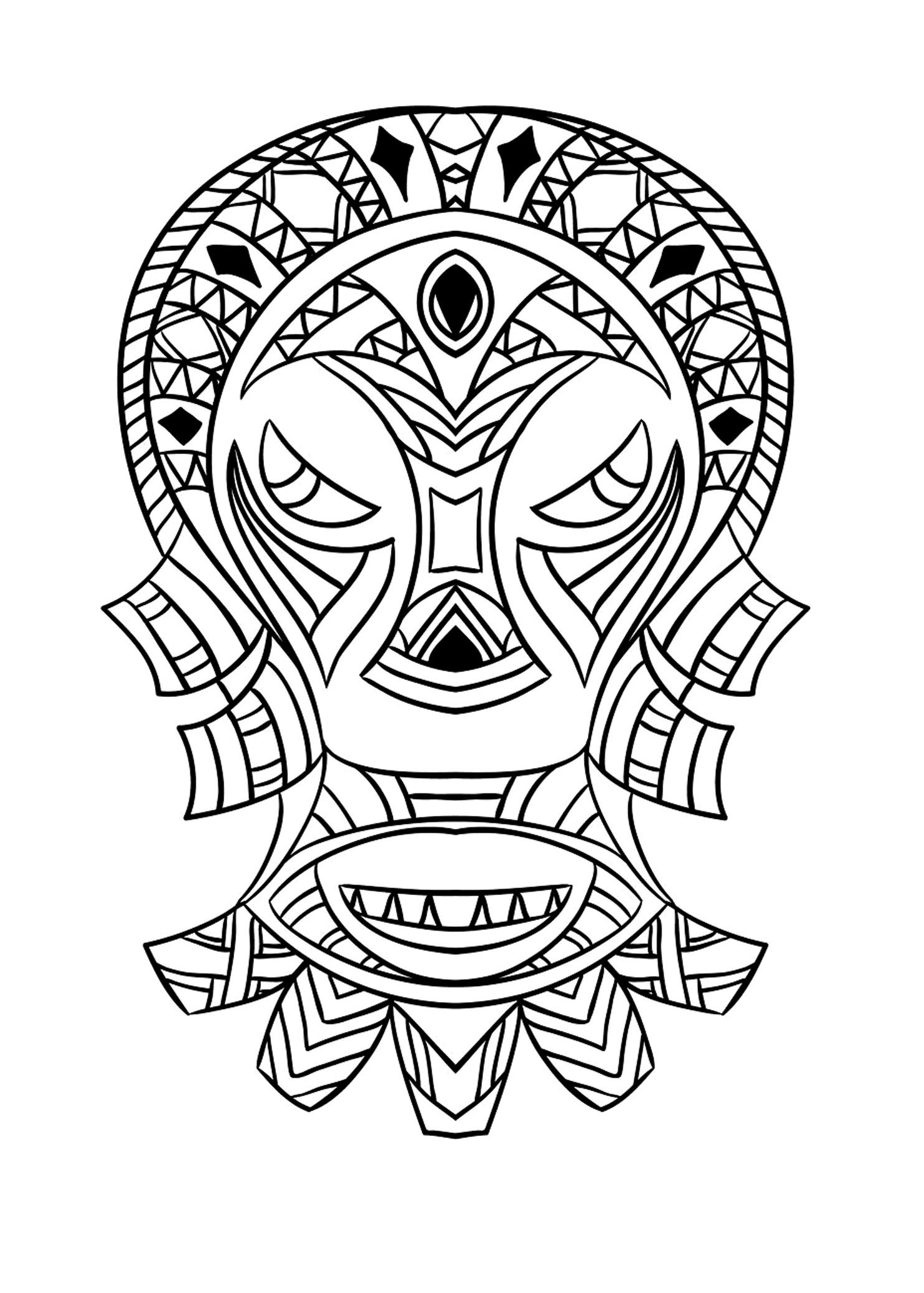 printable african masks coloring pages african mask coloring pages to print coloring pages masks pages printable african coloring