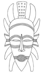 printable african masks coloring pages african tribal masks coloring pages coloring pages masks coloring african printable pages