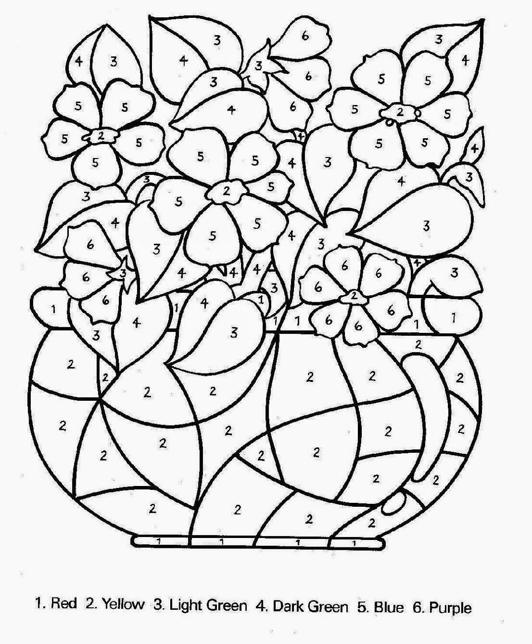 printable coloring pages for older kids color by number for older kids spring coloring pages printable older pages kids coloring for