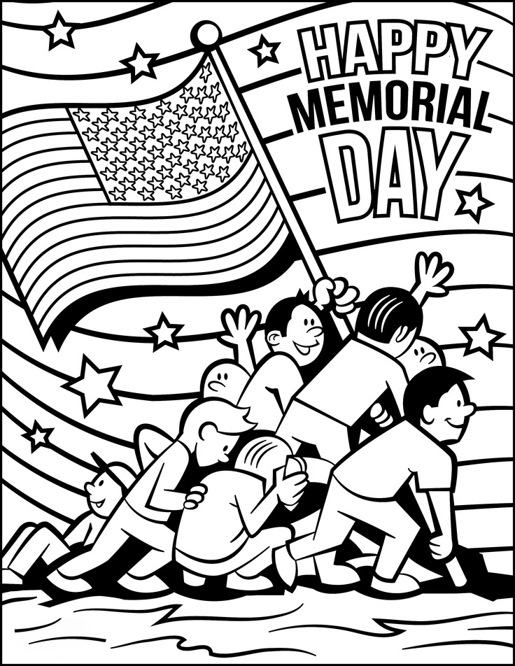 printable coloring pages memorial day 25 free printable memorial day coloring pages coloring pages printable memorial day