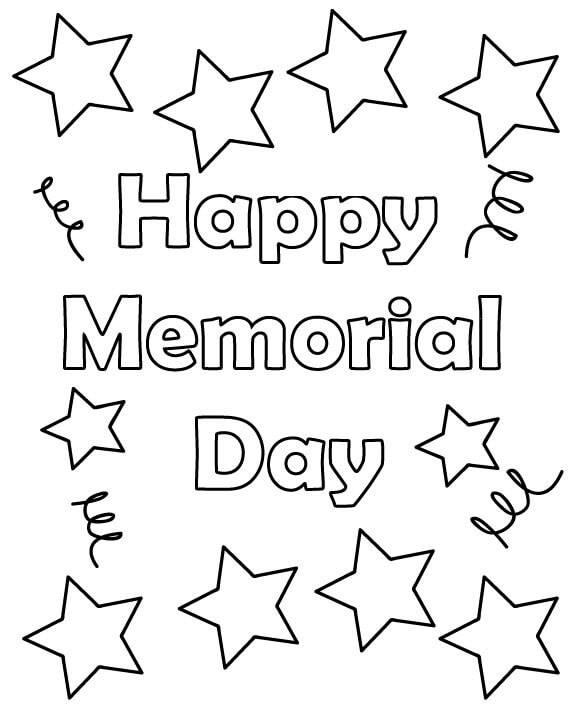 printable coloring pages memorial day memorial day coloring page northern news pages printable coloring memorial day