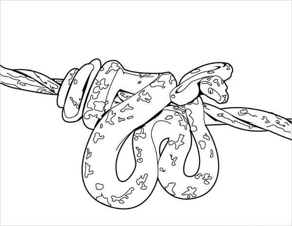 printable snake free printable snake coloring pages for kids printable snake