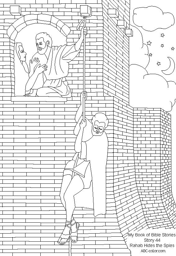 rahab coloring pages rahab coloring page coloring home pages rahab coloring