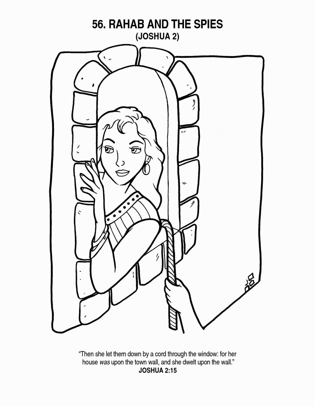 rahab coloring pages rahab hides the spies coloring page supercoloringcom coloring rahab pages